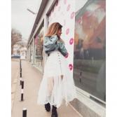 Пола Glam white