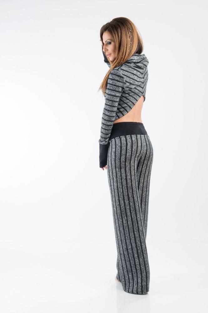 Пуловер поло яка